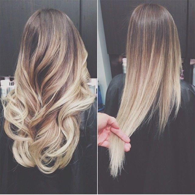 from blonde to ombre - Google Search