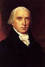 James Madison, Father of the Constitution and 4th President of the United States was born on March 16, 1751.