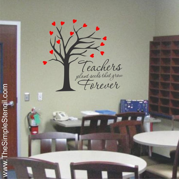 25 best ideas about teacher lounge on pinterest staff for Classroom wall mural ideas