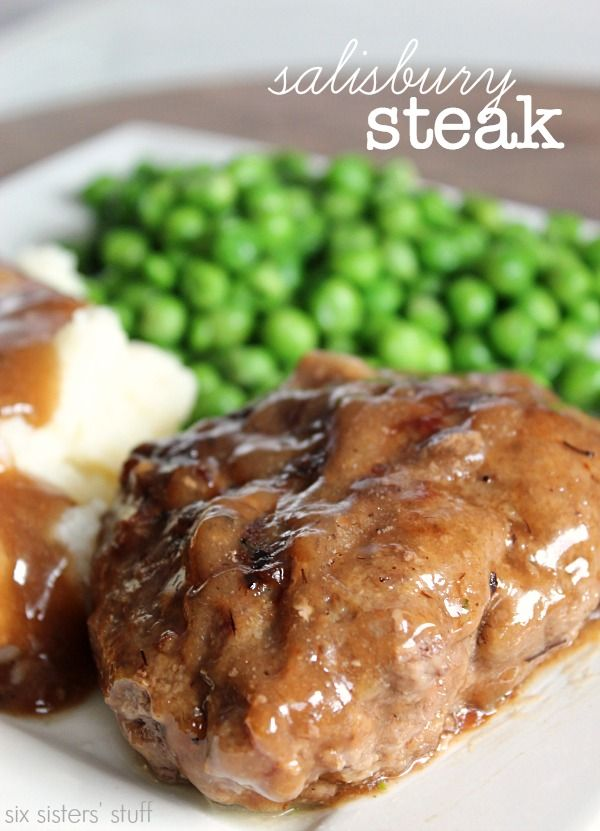 Salisbury Steak Recipe on MyRecipeMagic.com