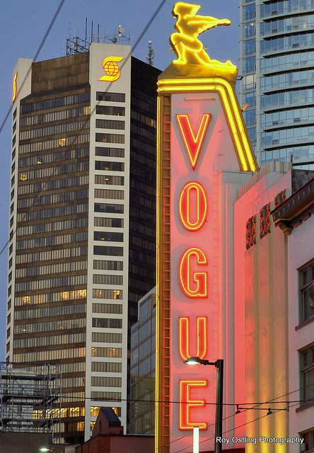Vogue Theatre neon sign, Vancouver, BC | Flickr - Photo Sharing!