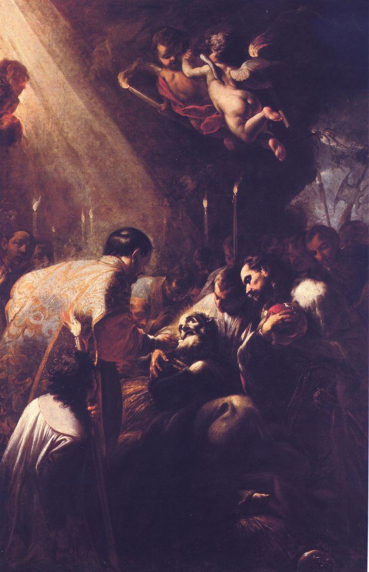 Petr Brandl - Smrt poustevníka Vinitíře - kostel sv. Markéty, Břevnovský klášter