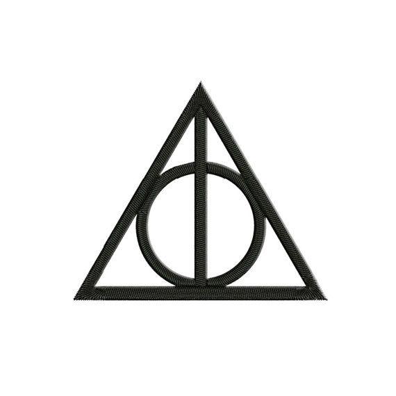 Harry Potter broderie - reliques de la mort - motif de broderie Machine - animaux fantastiques - NushNusha boutique