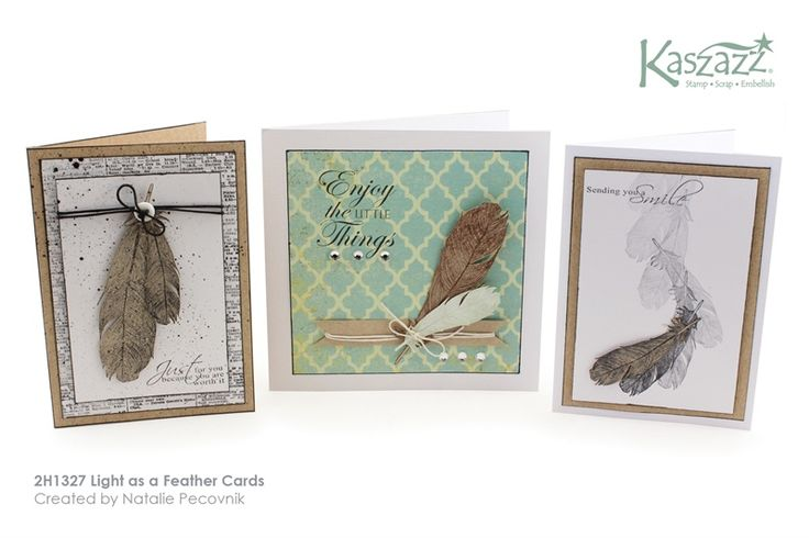 2H1327 Light as a Feather Cards