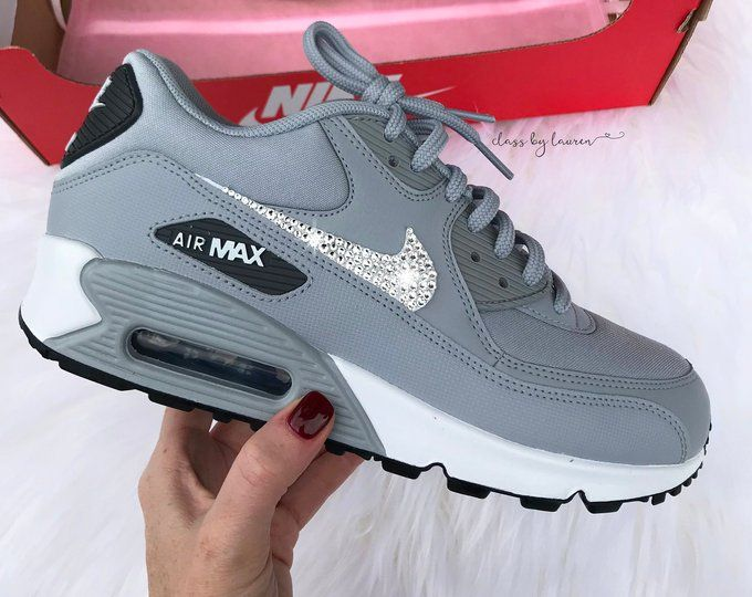 Swarovski Nike Air Max 90 Women en 2020 | Zapatillas ...
