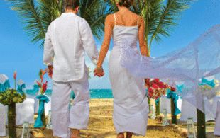 Destination Wedding Pearl package Coconut Bay in Saint Lucia.