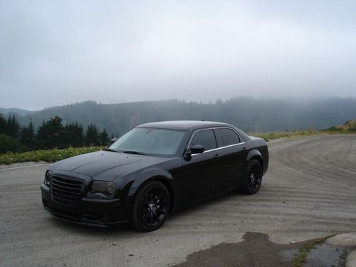 Look Another Way, Blacked out Chrysler 300