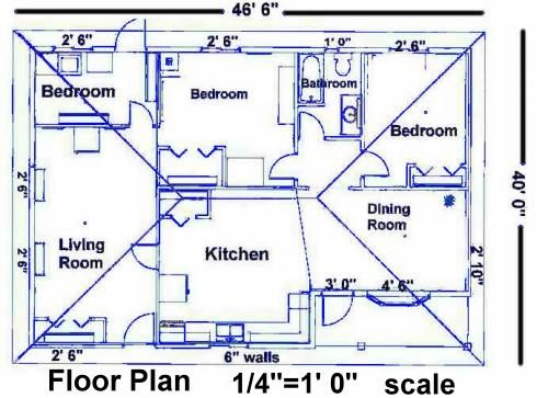 Vanishing points are everywhere blueprints pinterest for Plumbing plans examples