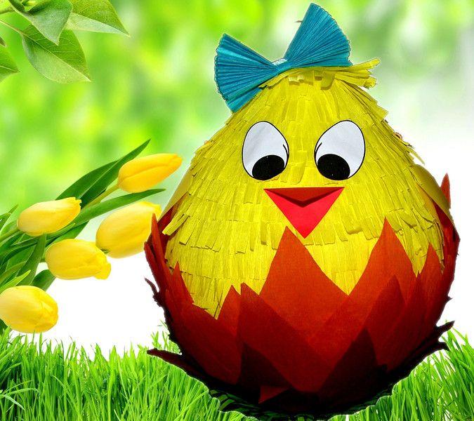 PINIATA+Pisanka+Kurka+Wielkanoc++KIJ++OPASKA+w+hanako-design+na+DaWanda.com