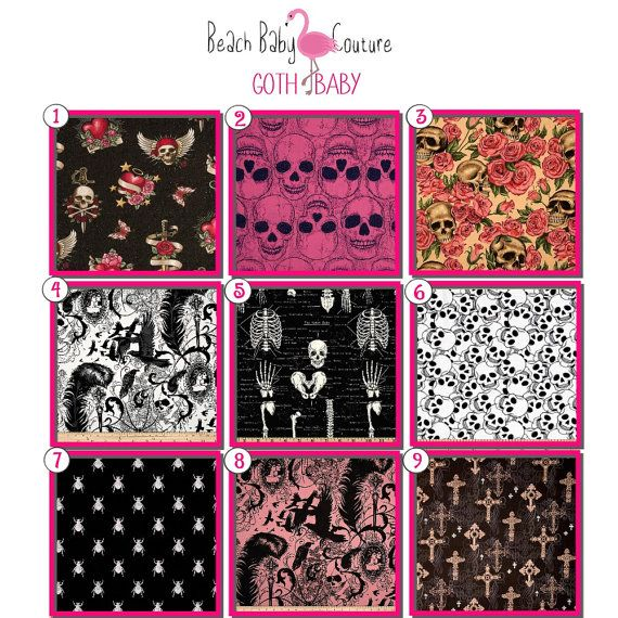 Goth Baby - Fitted Crib Sheet for Newborn, Infant &Toddler - Custom Made - on Etsy, $44.26 AUD