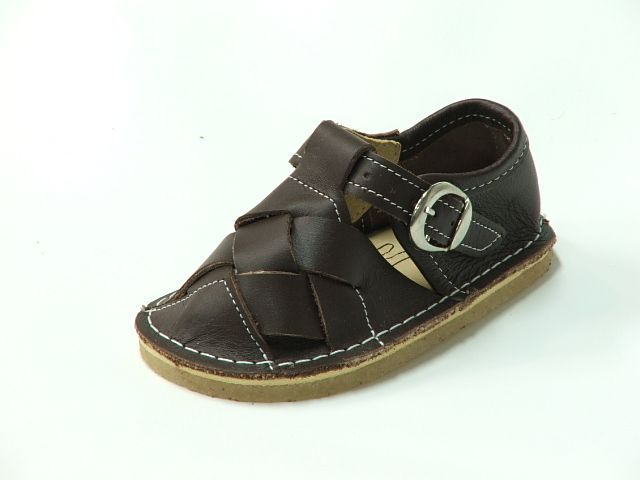 Bear Feet T Strap Woven Toe Chestnut Sandals $69.99 http://www.meandmyfeet.com/product/BFTSWCHNUT #Bear #Feet #T #Strap #Woven #Toe #Chestnut #Sandals #Kids #Child #Shoes