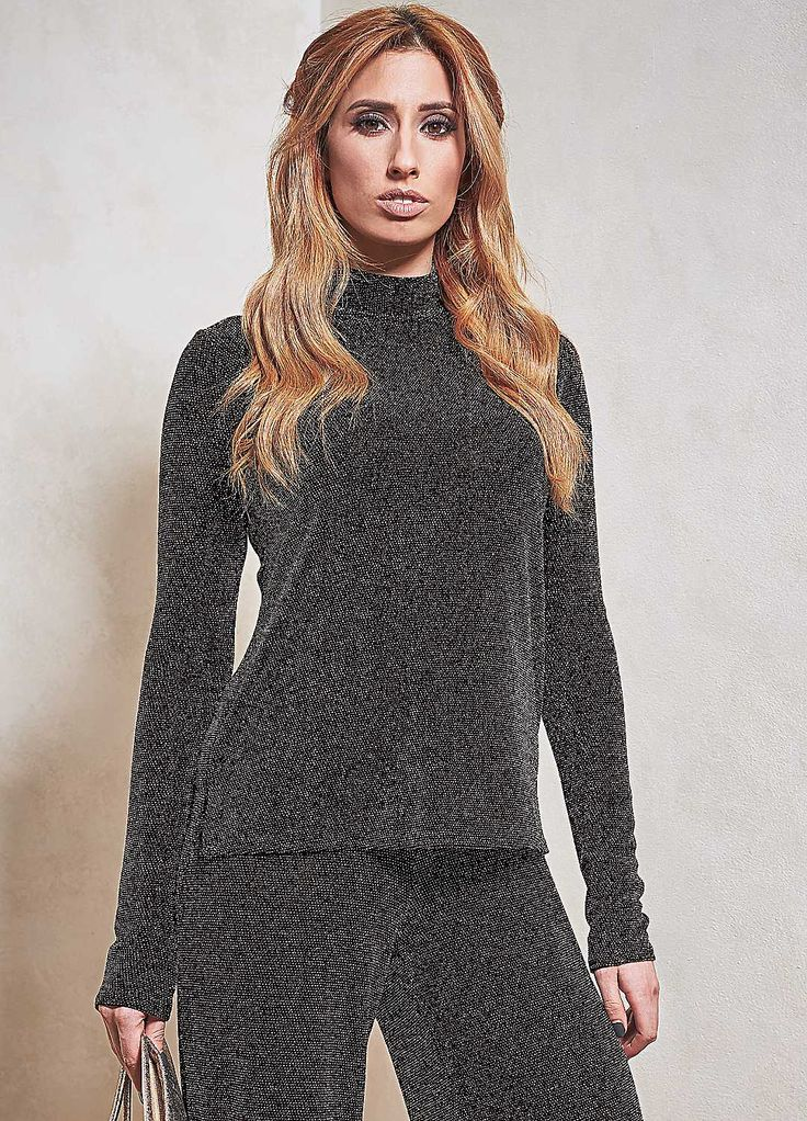 Sparkle Turtleneck Top by Stacey Solomon