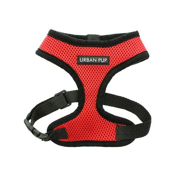 Cherry Red Soft Dog Harness