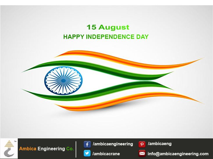 May the glory of Independence Day be with your forever, Celebrate the free spirit of India. #Happy_Independence_Day