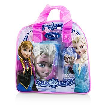 Air Val International - Disney Frozen Coffret: Eau De Toilette Spray 100ml/3.4oz + Plastic Cup with Straw + Bag (F) | SK