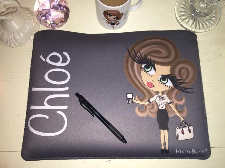 HunniBunni Personalised Laptop Pouch so that your laptop doesn't get scratched when you carry it around