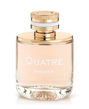 Fragrance BOUCHERON QUATRE has been announced as floral with juicy fruity notes and sophisticated woody shades