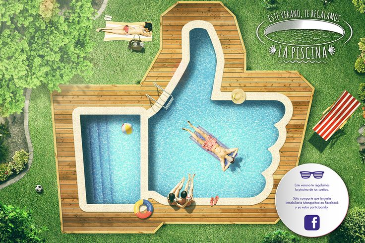 Summer with the swimming pool of your dreams on Behance