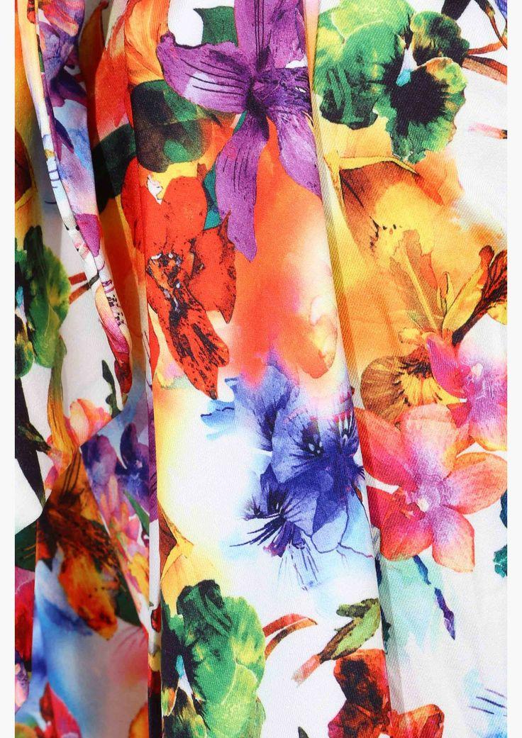 Garden Daze Print. Perfect for a silky robe