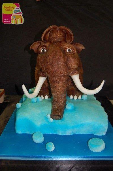 """Secondo Trofeo Fantasy Cake - Genova 2014. Vincitore Categoria """"3D Cake"""" Sara Fiorito"""