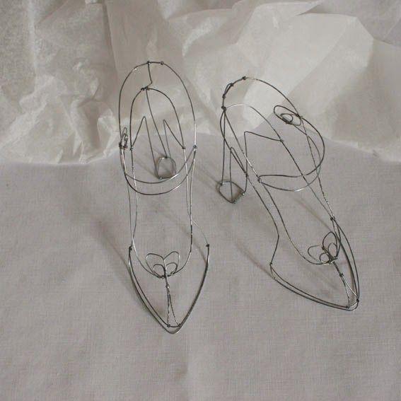 Fer ObjetsDes Fils Et Objets Sculptures ChaussuresJewelry De Nvmw8n0