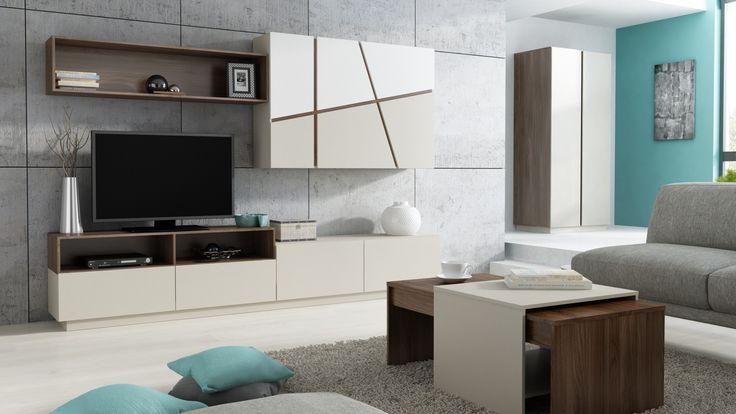 W takim salonie aż chce się przebywać :) Poznaj naszą kolekcję Pola #meble #salon #zainspirujsie #inspiracja #szynaka #inspiration #livingroom