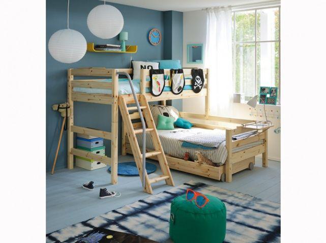 25 best lit mezzanine fly ideas on pinterest lit enfant fly lit mezzanine - Lit mezzanine en bois ...