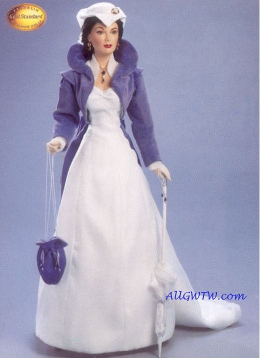 Franklin Mint Gone With the Wind Porcelain Dolls : All Gone With the Wind Collectibles-rare retired vintage collectibles-shopping at www.allgwtw.com