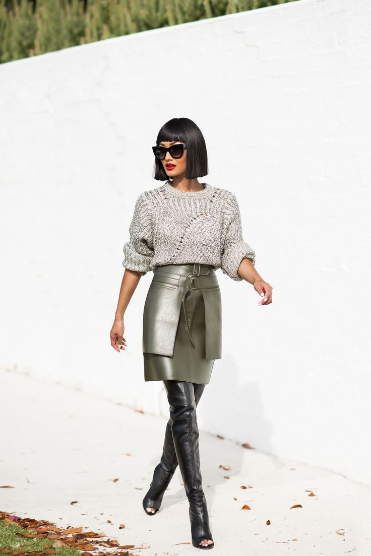 avant-garde-skirt-with-sweater