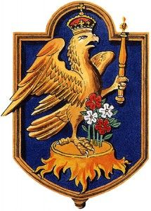 Anne Boleyn's Crowned Falcon Badge