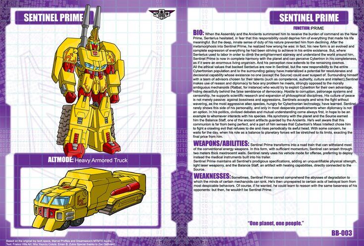 Sentinel Prime Bio by Tf-SeedsOfDeception.deviantart.com on @deviantART