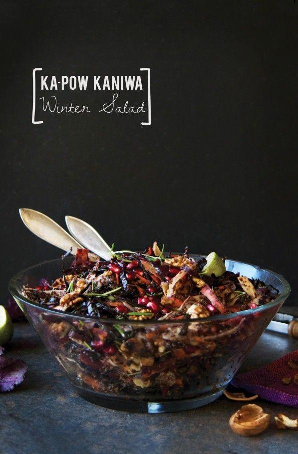 Ka-pow Kaniwa Winter Salad