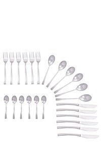 24 PIECE WAVE CUTLERY SET x 2 R719.98