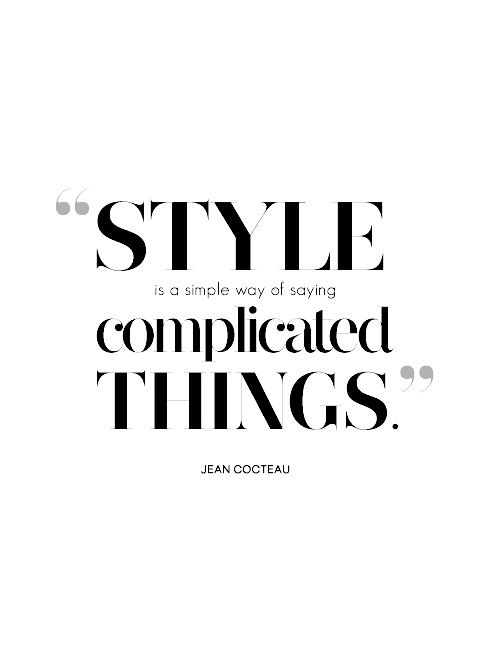 131 Best Fashion Quotes Images On Pinterest Words The