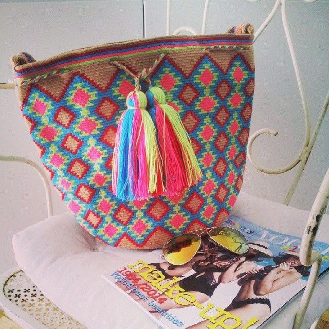 New arrivals!! email to mochilamilano@gmail.com #mochilamilano #wayuu #bags