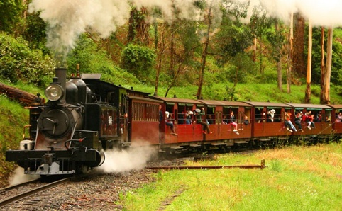 Puffing Billy, Emerald Lake