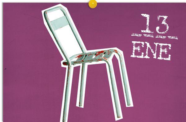 Café parisino. Con esta silla francesa de bistrot de los años 60 (en Passage Privé) podrás recrear el ambiente bohemio de la capital francesa de mediados del siglo pasado. Un café, s'il vous plaît. AD España © D.R.
