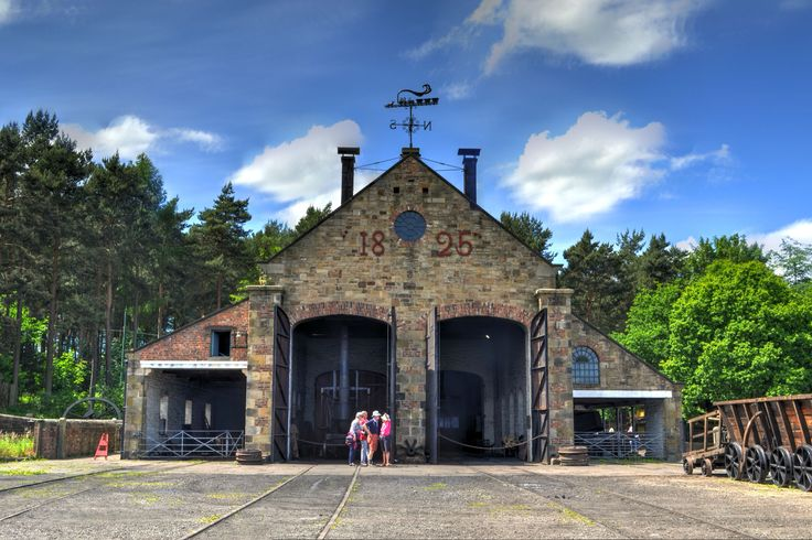 Beamish Train Station HDR