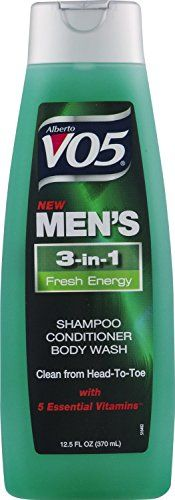 3 Pk Alberto VO5 Mens 3in1 Shampoo Conditioner Body Wash Fresh Energy 125oz >>> Click on the image for additional details.Note:It is affiliate link to Amazon.