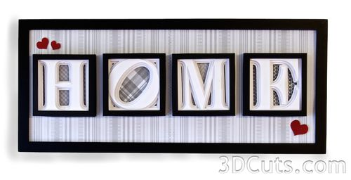 3DCuts.com, Marji Roy, 3D corte arquivos no formato. Svg,. Dxf e pdf.  formatos para uso com silhueta e corte Cricut máquinas, arquivos em papel artesanato, caixas de sombra alfabeto