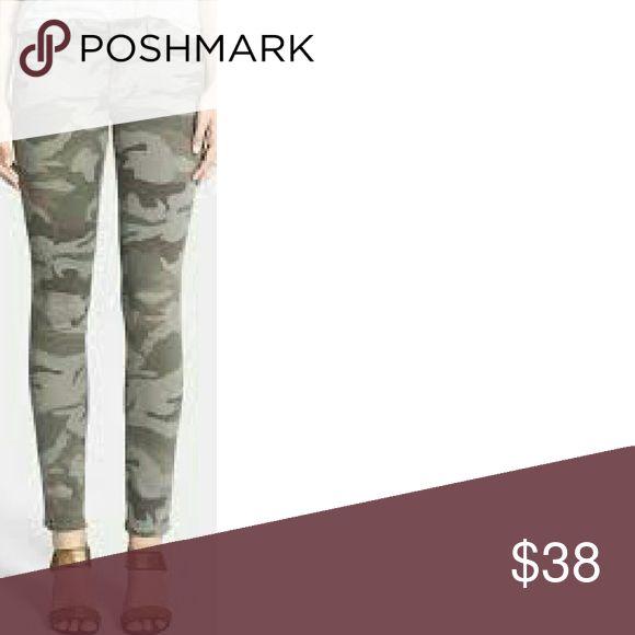 Camouflaged Skinny pants Zip ankle camouflaged skinny pants refuge Jeans Skinny