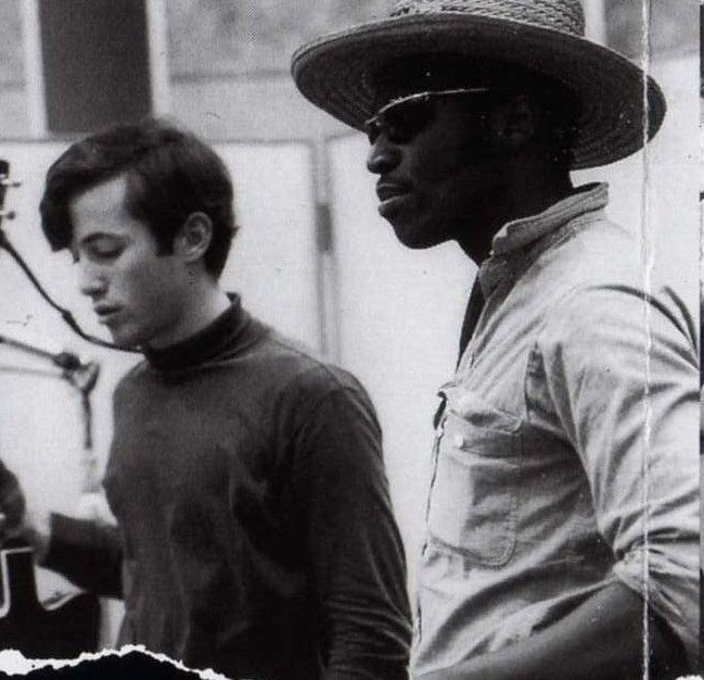 Ry Cooder & Taj Mahal. The Rising Sons, Columbia Recording Studio, Los Angeles, 1965/66