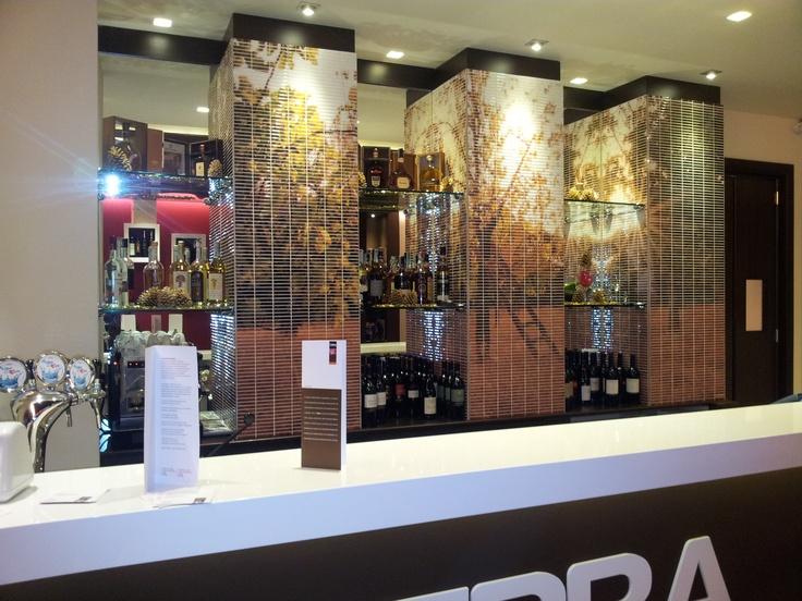 #Digital #Mosaic in a Bar