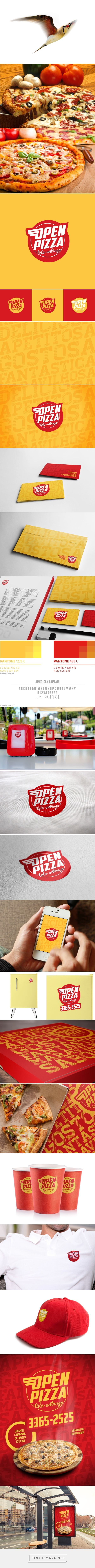 OPEN PIZZA on Behance - - - - - -- - - - - - - - - - - - -... - a grouped images picture - Pin Them All