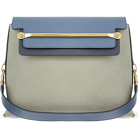 CHLOE Clare medium-sized shoulder bag (Marshmallow grey