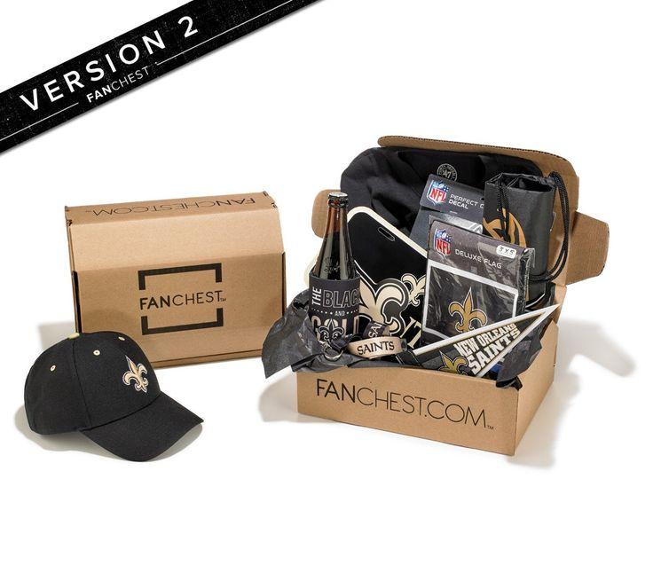New Orleans Saints Gift Boxes | Saints Gear | FANCHEST • FANCHEST