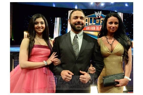 Santino marella with his wife and daughter | WWE/TNA/ECW/NXT COUPLES past and present | Pinterest | Santino marella and Wwe tna