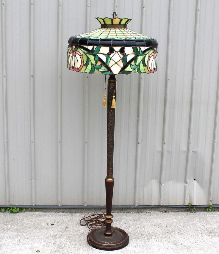 403 Best Images About Antique Floor Lamps On Pinterest