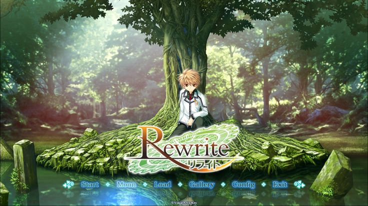 Visual Novel Rewrite : Moon route Start