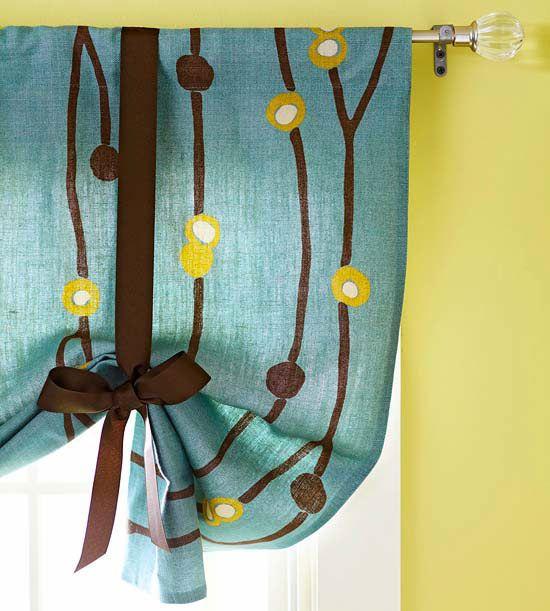 Six Creative and Cheap Window Treatments for Custom Lengths